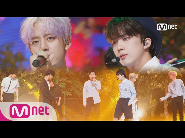 B.A.P - HONEYMOON | M COUNTDOWN 09.07.2017 EP.540