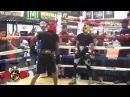 MAYWEATHER SPAR WARS!! WBC CHAMP WASEEM VS ROSCOE (Red Headgear)