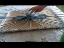 Плетение из газетных трубочек Как сплести ажурную крышечку
