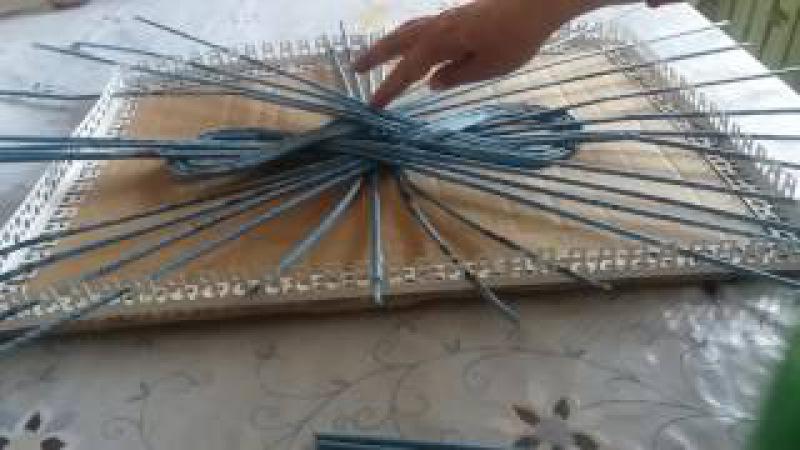 Плетение из газетных трубочек. Как сплести ажурную крышечку