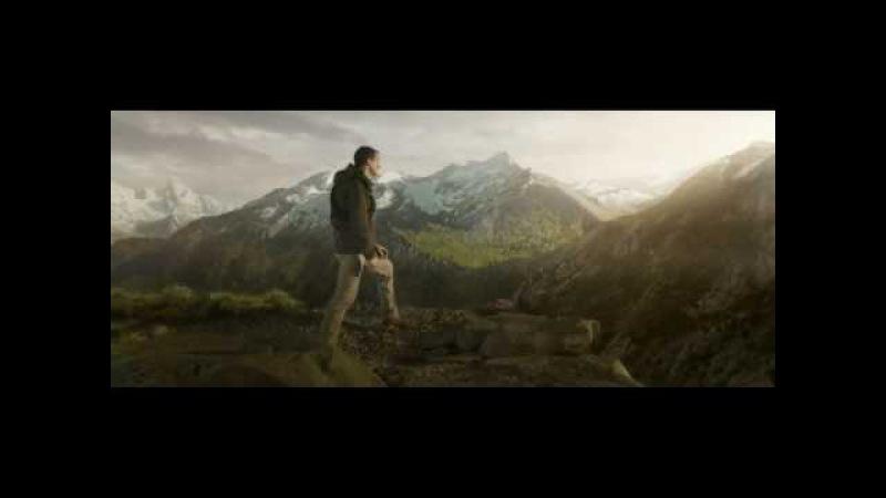 Беар Гриллс в новом ролике Samsung.Выживает вместе с Gear S3