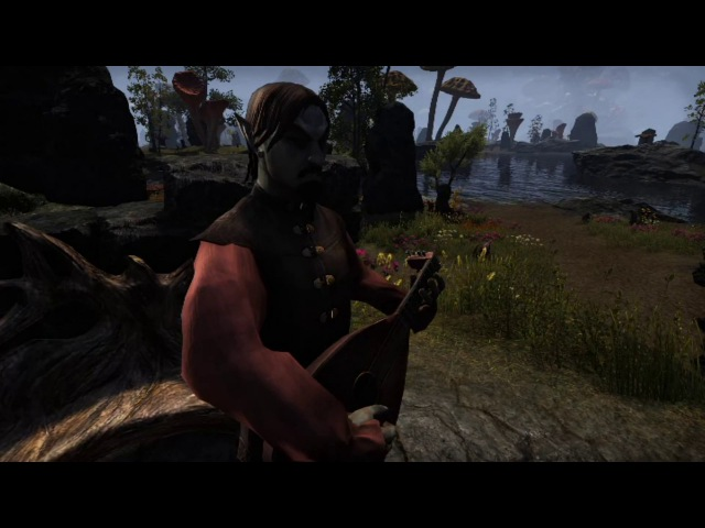 ESO Morrowind - Bard Song The Cliff-Strider Song (Male, Female, Instrumental)