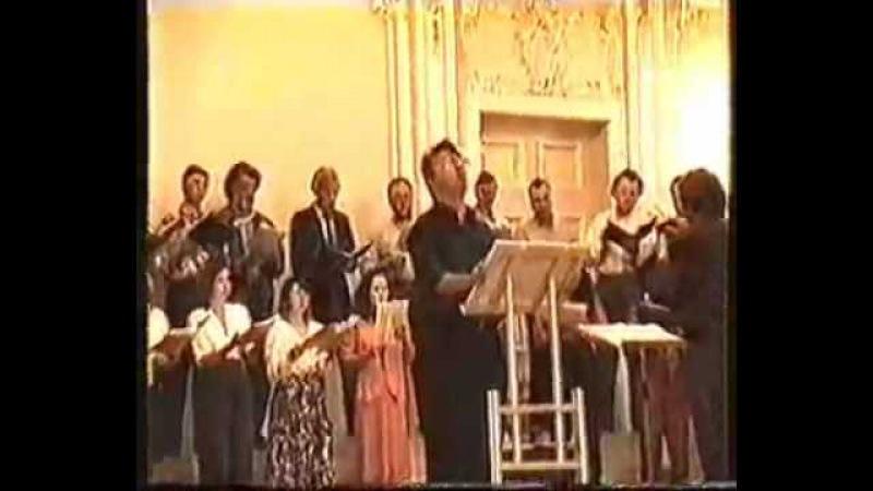 Dmitry Hvorostovsky St. Petersburg Chamber Choir - Korniev - Credo, Come To Me, All You Who Labour