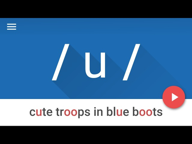 Vowel Sound /u/ as in blue- American English Pronunciation