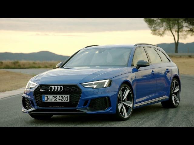 2018 Audi RS4 Avant footage