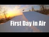 First Day in Air Самара, горнолыжный комплекс