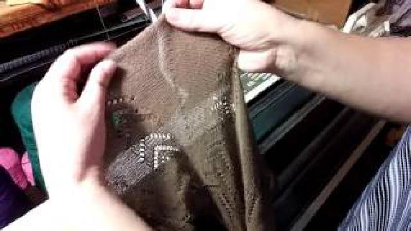 Детская ажурная юбка с клиньями