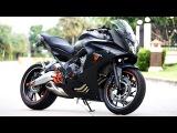 Honda CBR650F - Akrapovic, arrow, Racefit, Leovince, AR Austin Racing  Ultimate exhaust sound