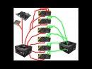 Как подключить два блока питания к майнинг ферме dual PSU схема подключения