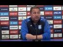Дмитриев пресс-конференция матча Зенит-2 - Балтика