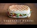 Vegetable Panini vegan ☆ ベジタブルパニーニの作り方