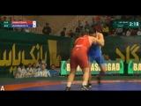 130 кг.Борис Вайнштейн (Россия) - Кузембаев Дамир (Казахстан). Кубок Мира 2017