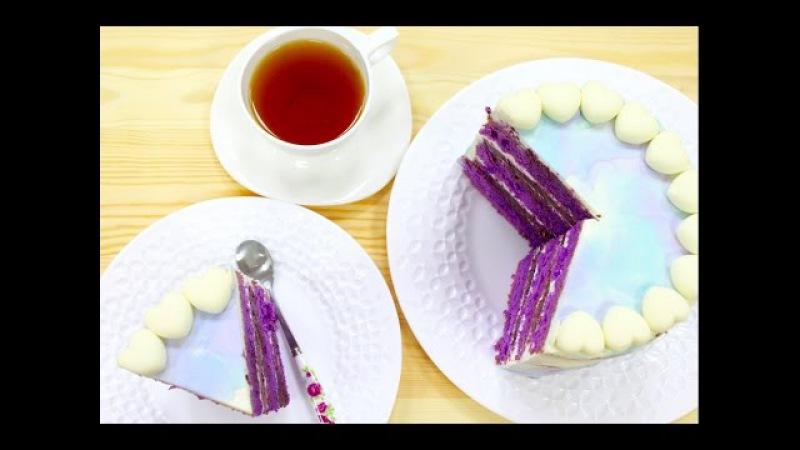 Лавандовый Бисквитный Торт Конкурс от Luminarc Lavender Sponge Cake