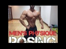 MENS PHYSIQUE POSING | HOW TO POSE | 5 WEEKS OUT | ROMANE LANCEFORD IFBB PRO MENS PHYSIQUE