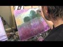 Пейзаж для начинающего художника, живопись маслом, Сахаров, уроки маслом