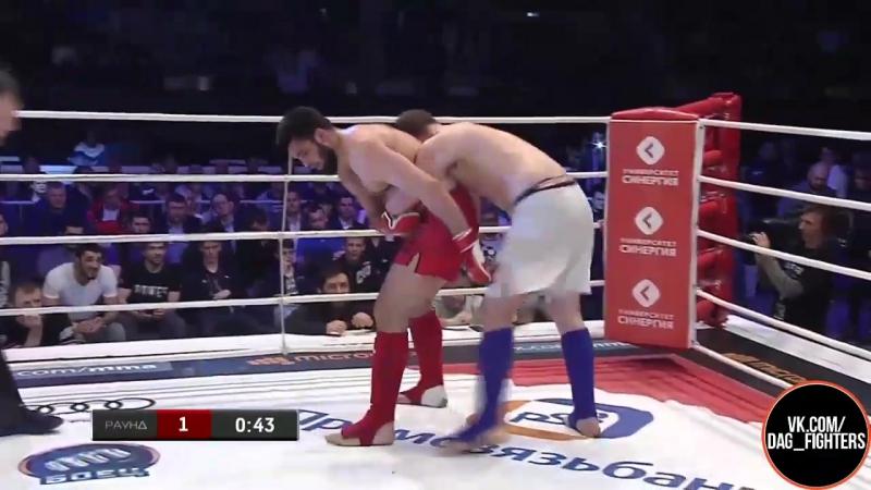 Гаджимурад Баширов vs Муслим Магомедов - Финал ЧР по ММА до 93 кг