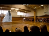 7D Голограмма Кита в Спортивном зале.