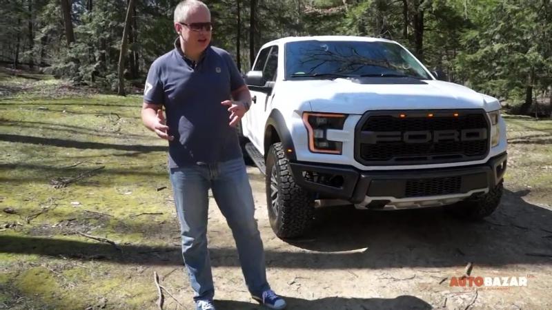 2017 Ford F-150 Raptor видео. Тест драйв Новый Форд Раптор 2017 на Русском. Авто