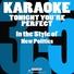 Karaoke 365 - Tonight You're Perfect (In the Style of New Politics) [Karaoke Version]