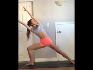 Минутка йоги