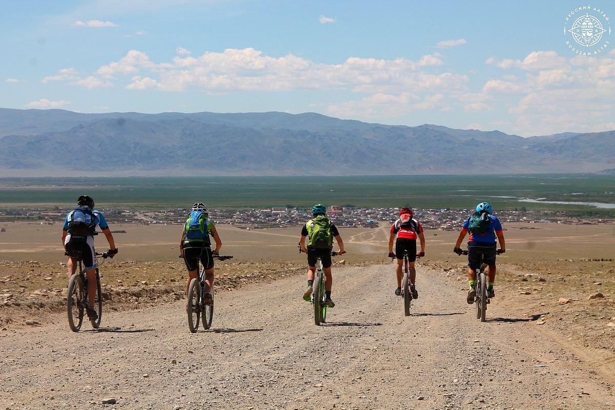 Велотур Монголия