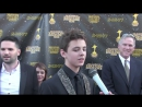 Max Charles Interview at the 2017 Saturn Awards