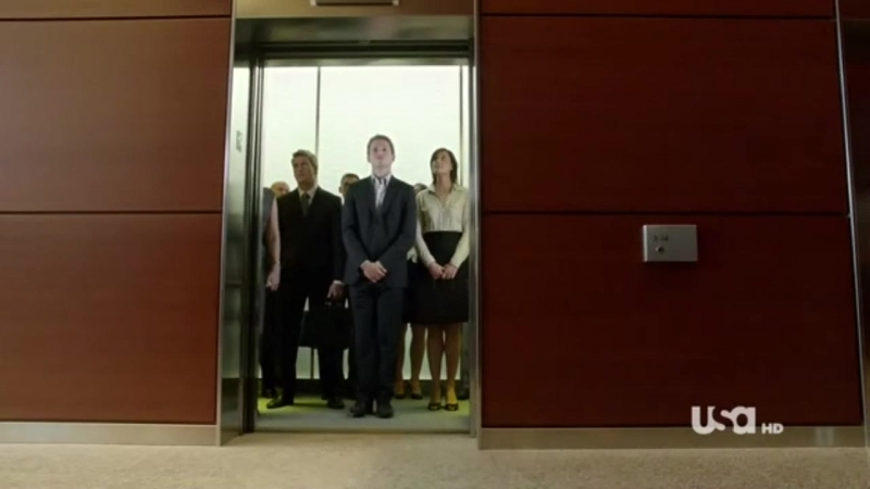 Suits 01x02 Mike and Jessica