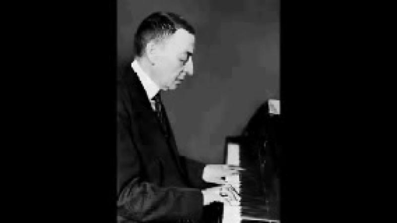 Sergei Rachmaninoff plays Daquin Le coucou