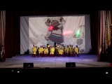 Шоу-балет Мы. Танец Гуси, дебют моей девочки первый ряд, вторая справа