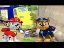 Щенячий Патруль Маршал и Гонщик спасают Кошечку Калли.Paw Patrol Мультик Игра