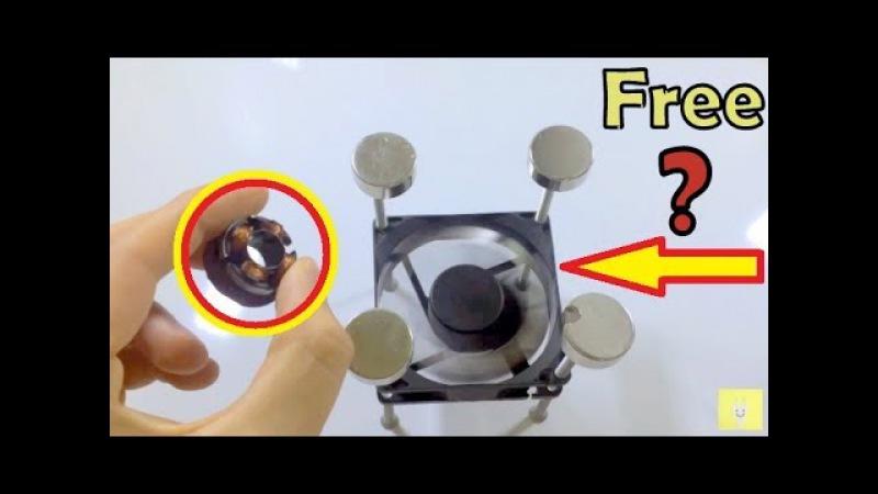 PC Fan Magnet motor, Free Energy