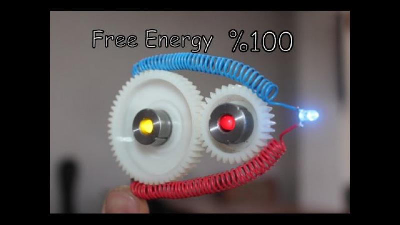 Dişli Çark Sistem ile Sınırsız Elektirik üretmek | Free Energy