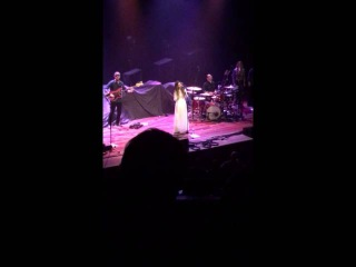 Maren Morris AT THE RYMAN -- Once -- Opening for Chris Stapleton