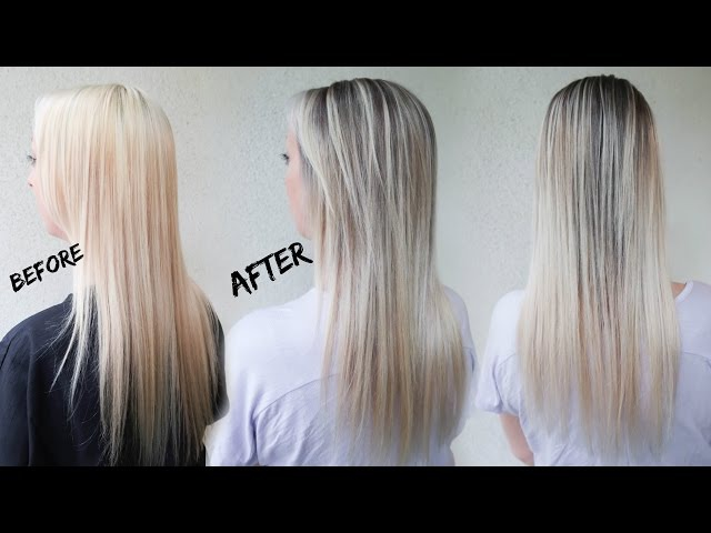 How to Reverse Balayage A.K.A. Smudge Root | Ft. Redken Blur Brush