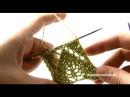 Накиды. Ажурные узоры по схемам в вязании спицами.