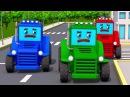 РАЛЛИ МАШИНКИ ТРАКТОР гонки мультик ВИДЕО ДЛЯ ДЕТЕЙ про машины тачки VIDEOS KIDS fun