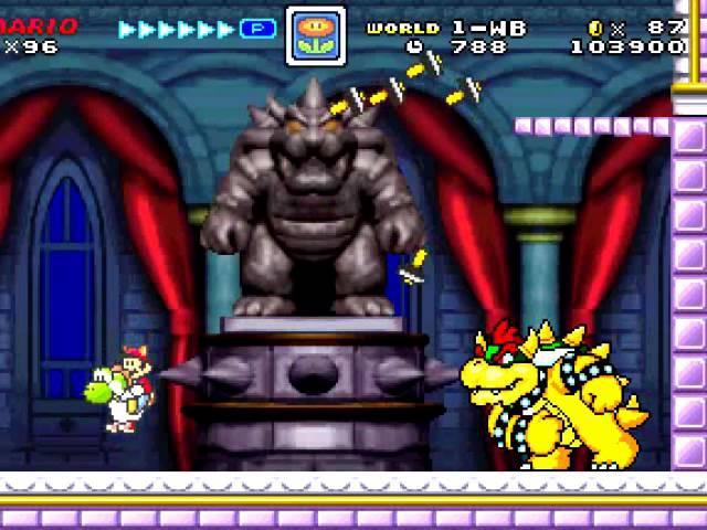 Super Mario Fusion Revival. Best game 2016.