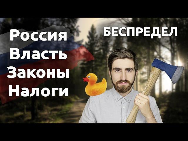 Россия, власть, налоги, законы. Беспредел!