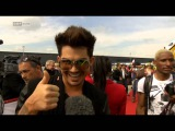 2013-05-25 Adam Lambert - Extra from ORF - Life Ball 2013