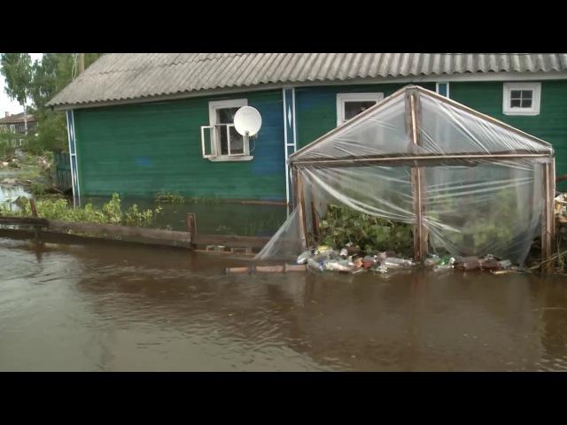 Две деревни в Вытегорском районе по прежнему отрезаны от большой земли