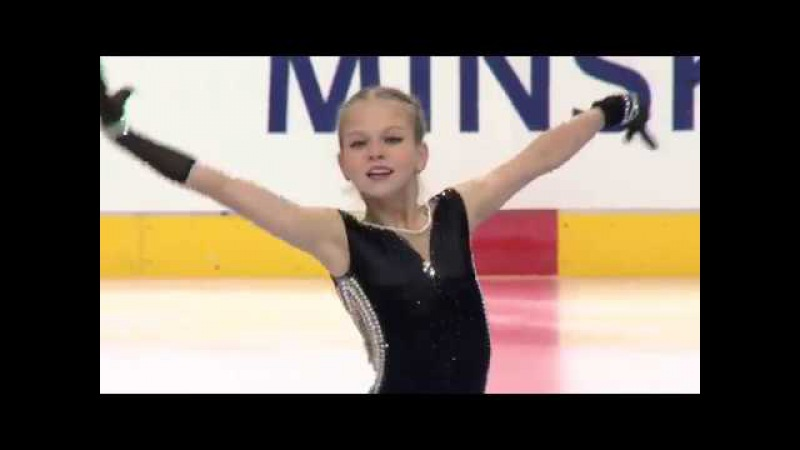 Alexandra TRUSOVA Александра ТРУСОВА - SP 69.72 - Junior Gran Prix 2017