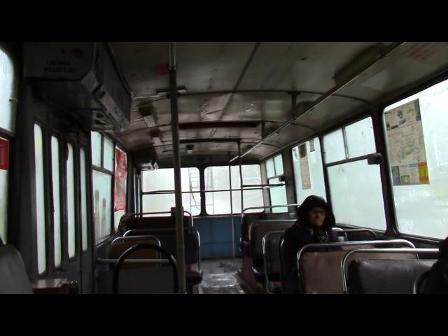 Протекает крыша троллейбус Зиу 682 №2410 г Тольятти