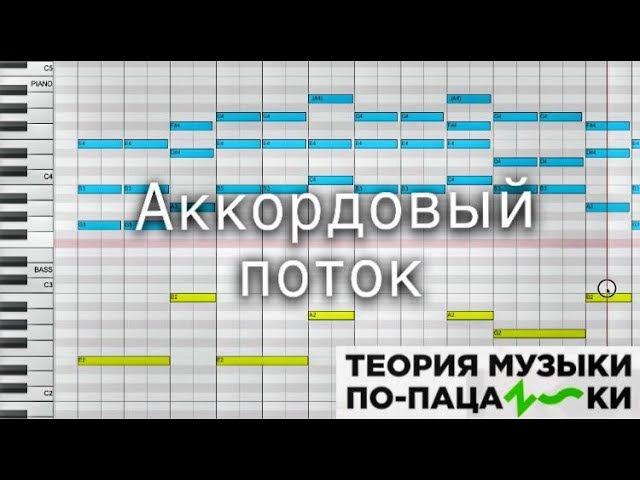 Вкусные аккорды - Плавное движение [Теория музыки по-пацански]