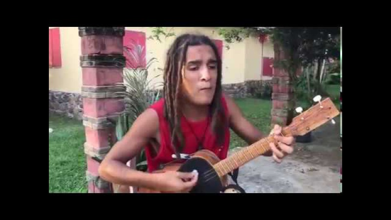 Reggae One Man Band sings Bob Marleys hits