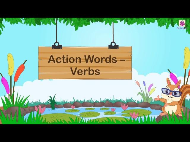 Verbs For Kids | Grammar Grade 1 | Periwinkle