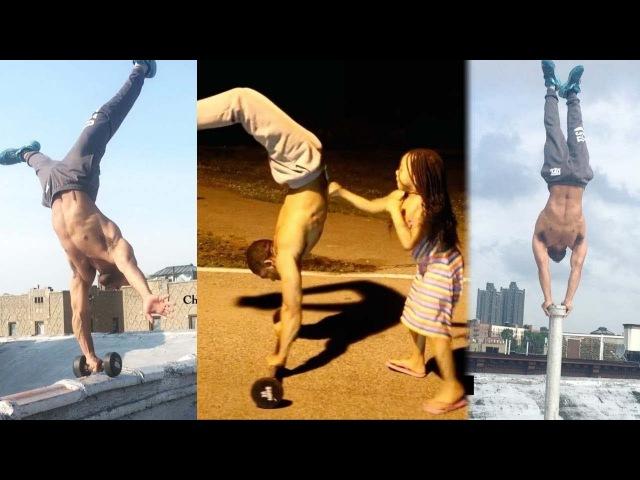 Король БАЛАНСА и МАСТЕР СТОЙКИ - Christopher Joyce - Workout мотивация rjhjkm ,fkfycf b vfcnth cnjqrb - christopher joyce - work