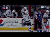 Dustin Brown Scores on Semyon Varlamov | Kings Trail Avalanche 2-1