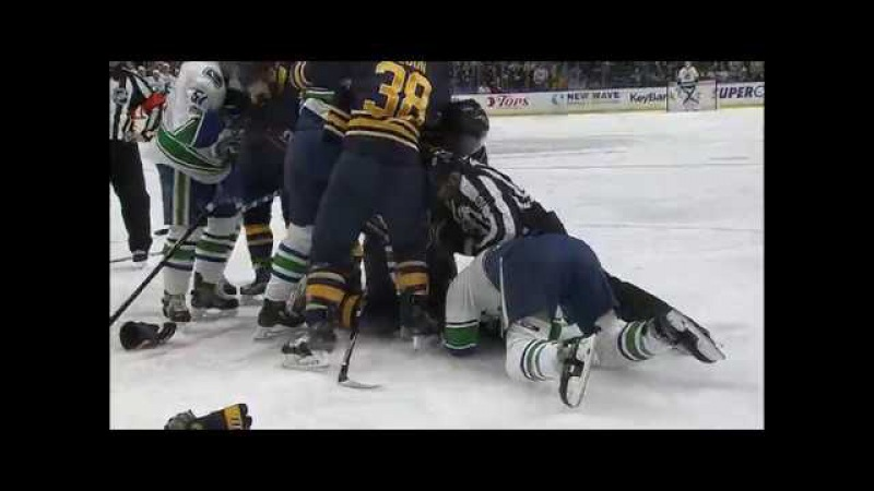 Gotta See It: Burrows gets rough with Lehner, then gets tackled by Falk