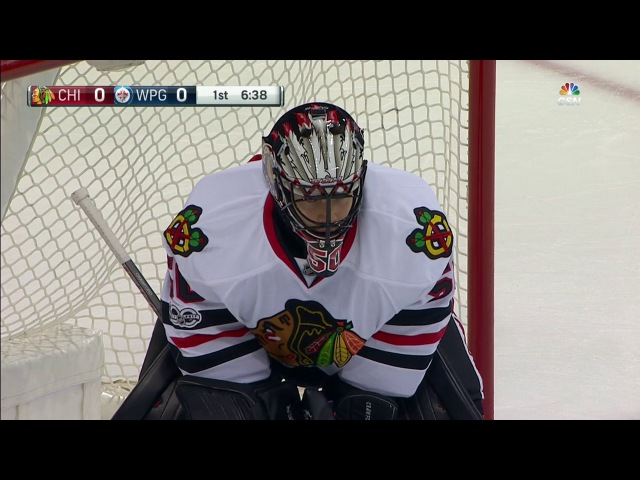 Crawford with 'spectacularly athletic stop' on Perreault