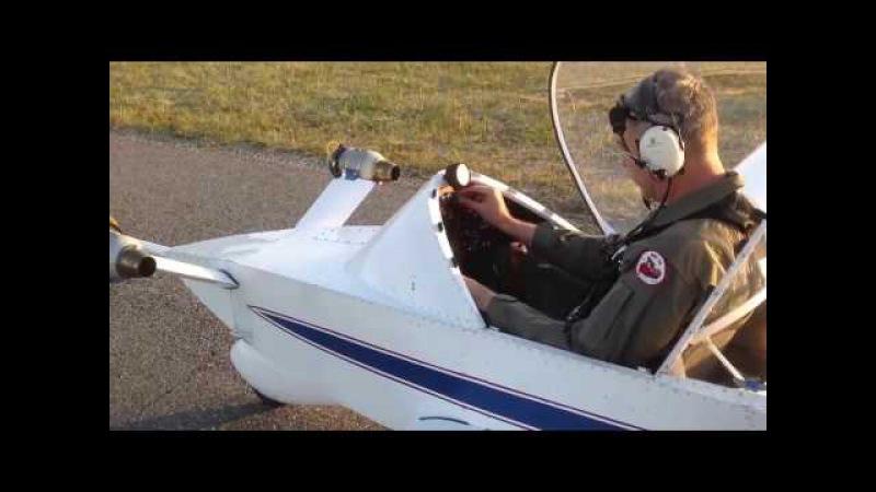 Самый маленький реактивный самолёт Colomban CriCri Jet The smallest jet plane Colomban CriCri Jet